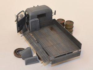 35142 MB 1500S GERMAN 1,5t CARGO TRUCK + vitpusha