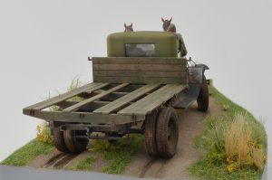 35124 GAZ-AA CARGO TRUCK 1.5t TRUCK + 35057 HORSES DRAWN FIELD KITCHEN KP-42 + 35042 WORLD WAR II DRIVERS + Vitaliy