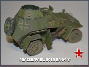 35110 PANZERSPAHWAGEN BA-64(r) w/CREW + Nikolai Kuprin