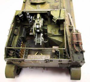 35053 JAGDPANZER SU-76(r) w/CREW + Sergei