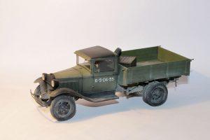 35124 GAZ-AA CARGO TRUCK 1.5t TRUCK + Alexander Fomin