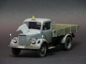 35142 MB 1500S GERMAN 1,5t CARGO TRUCK + Mrack