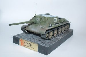35187 SU-85 SOVIET SELF-PROPELLED GUN. INTERIOR KIT + Savely Nikolaev
