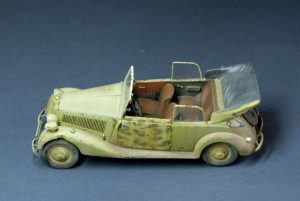 35107 GERMAN CAR TYPE 170V Cabriolet B. + Leonid Posty
