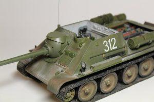 35187 SU-85 SOVIET SELF-PROPELLED GUN. INTERIOR KIT + Savely Nikolaev