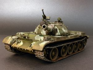 37011 T-54B SOVIET MEDIUM TANK. EARLY PRODUCTION. INTERIOR KIT