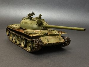 37011 T-54B SOVIET MEDIUM TANK. EARLY PRODUCTION. INTERIOR KIT + Federico Collada