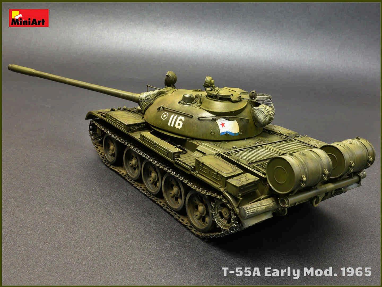MiniArt 37057 T-55A Early Mod.1965 in 1:35