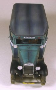 38005 PASSENGER BUS GAZ-03-30 + Shkalik