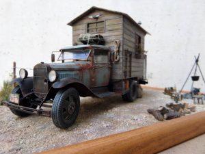 35124 GAZ-AA CARGO TRUCK 1.5t TRUCK + Roberto Fusaglia