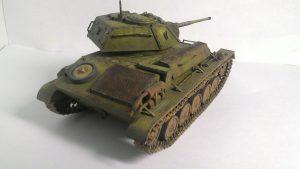 35038 SOVIET LIGHT TANK T-80 w/CREW + Den Nikolaev