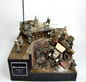 35134 GAZ-MM Mod.1943 CARGO TRUCK + Miroslaw Serba