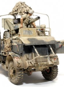 35051 BRITISH JEEP CREW + 35069 BRITISH ARMORED CAR CREW + Kev Smith