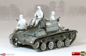 35215 T-60 EARLY SERIES. SOVIET LIGHT TANK. INTERIOR KIT + Sergio Solo