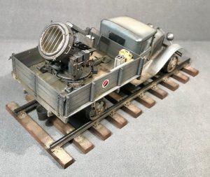 35124 GAZ-AA CARGO TRUCK 1.5t TRUCK + 35130 GAZ-MM Mod.1941 1.5t CARGO TRUCK + 35561 RAILWAY TRACK. EUROPEAN GAUGE + Alexander Fomin