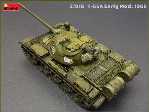 37016 T-55A Early Mod. 1965. Interior Kit +Dmytro Kolesnyk
