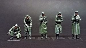 35218 GERMAN SOLDIERS (WINTER 1941-42)