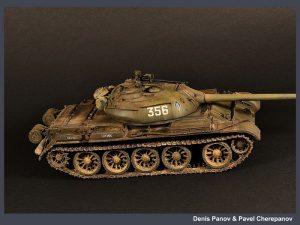 37004 T-54-2 Mod. 1949 SOVIET MEDIUM TANK + Pavel Cherepanov