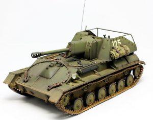 35143 SU-76M SOVIET SELF-PROPELLED GUN w/CREW + Evgeny Shusterov
