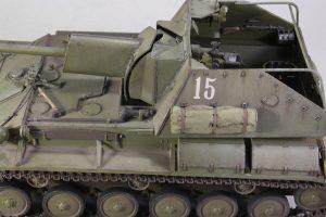 35036 SU-76M SOVIET SELF-PROPELLED GUN w/CREW + Alexander Novikov