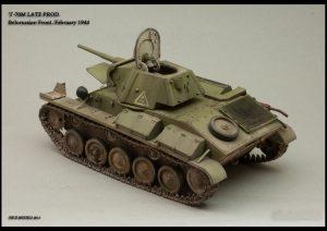 35030 SOVIET LIGHT TANK T-70M Late Prod. w/CREW + Roman Proshkin
