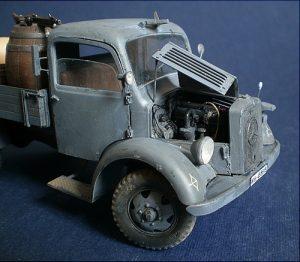 35142 MB 1500S GERMAN 1,5t CARGO TRUCK + Konstantin Chiganov