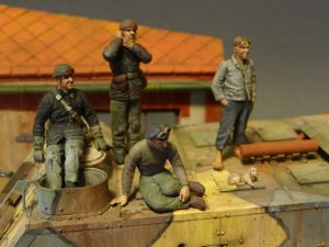 35534 EUROPEAN BARN + 38004 FRENCH CIVILIANS '30s-'40s + 35105 FRENCH TANK CREW + Sergey Kovalev