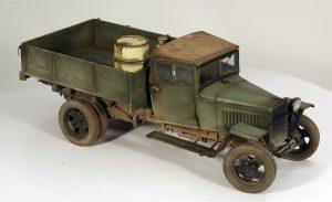 35134 GAZ-MM Mod.1943 CARGO TRUCK + Alexander Pedan