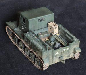 35052 Ya-12 SOVIET ARTILLERY TRACTOR + Alexander Babushkin