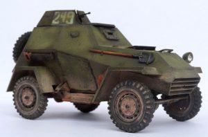 35097 BA-64B SOVIET ARMOURED CAR w/CREW + Dmitry Slivkov