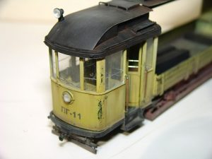 38003 GERMAN TRAMCAR 641 (StraBenbahn Triebwagen 641) + Stive