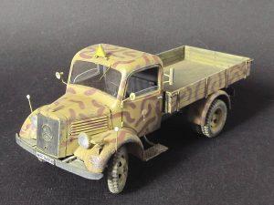 35142 MB 1500S GERMAN 1,5t CARGO TRUCK + Mikhail Lebedev