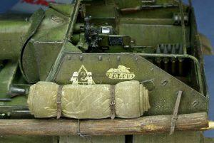 35143 SU-76M SOVIET SELF-PROPELLED GUN w/CREW + Sergey Shepaksov