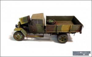 35134 GAZ-MM Mod.1943 CARGO TRUCK + Roman Zhuk