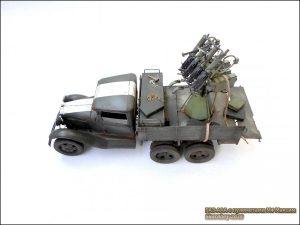 35177 GAZ-AAA w/QUAD M4 MAXIM + Roman Zhuk