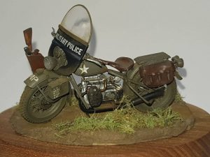 35080 U.S. WW II Motorcycle WLA + Thomas Köcher