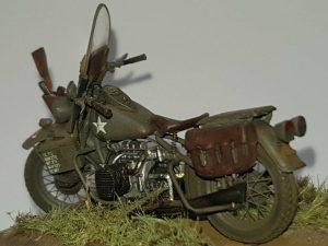 35080 U.S. WW II Motorcycle WLA + Thomas Köcher