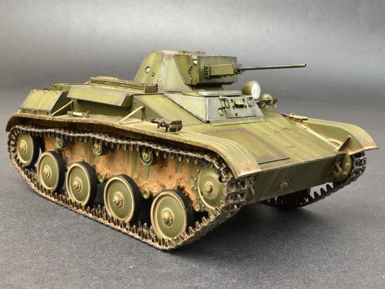 35232 T-60 späte Ausführung mit Zusatzpanzerung (Produktion GAZ Werke)
