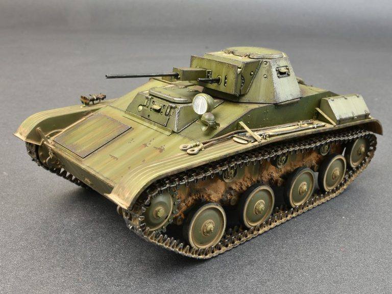 35232 T-60 晚期型,原型(高尔基汽车工厂) 带内构