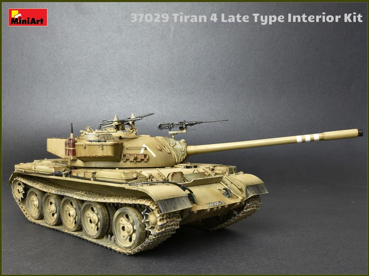 Miniart 37029 Tiran 4 Late Type Interior Kit 1009 Military Wiring Harness Diagram