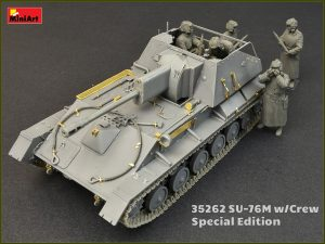 Photos 35262 SU-76M w/Crew SPECIAL EDITION