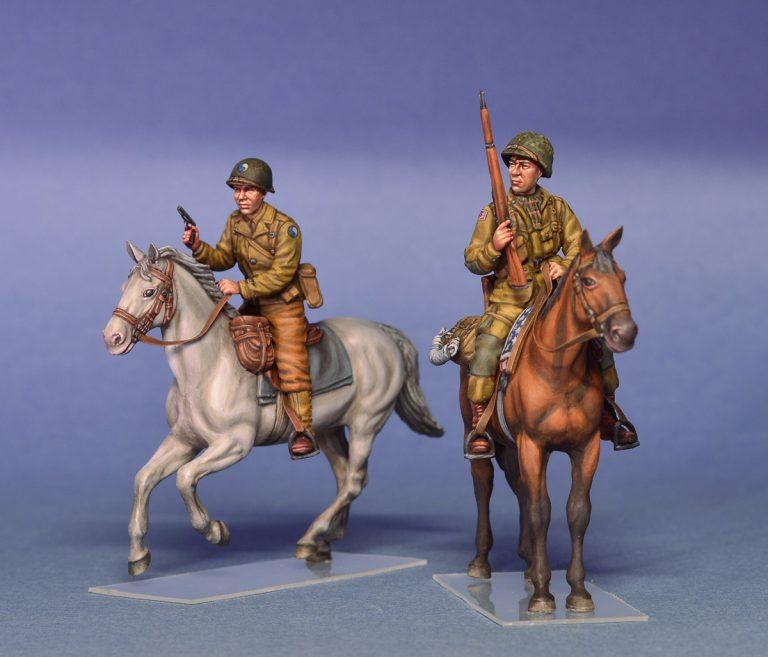 35151 美国骑兵 诺曼底1944