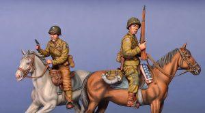 Photos 35151 Aмериканские Всадники. Нормандия 1944