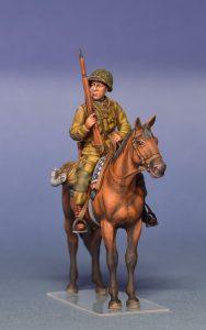 35151 U.S. HORSEMEN. NORMANDY 1944