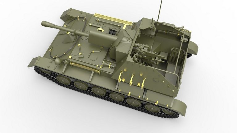 35262 SU-76M w/Crew SPECIAL EDITION