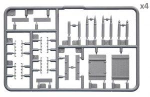 Content box 35262  ソビエト自走砲SU-76M(戦車兵5体・砲弾・弾薬箱付)特別版