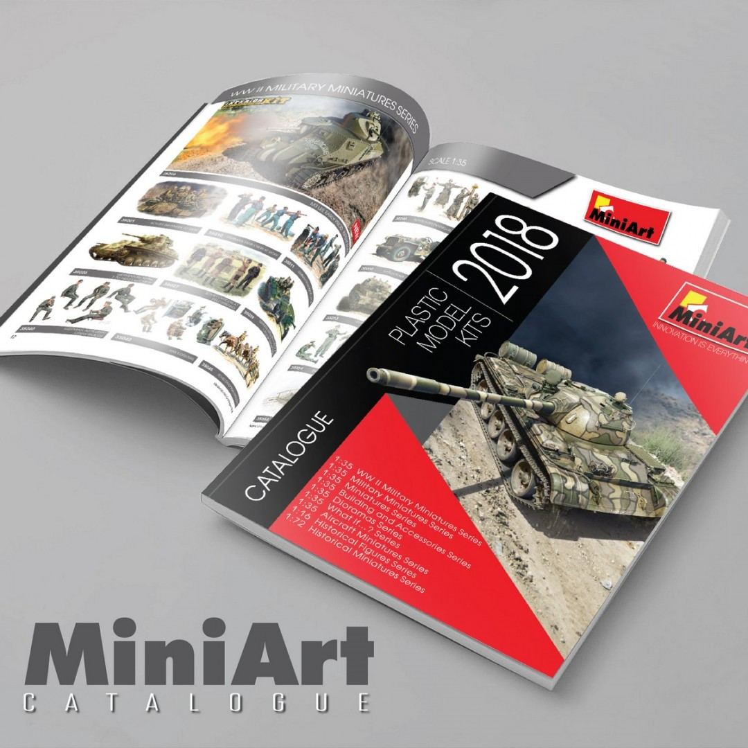New MiniArt Catalogue 2018