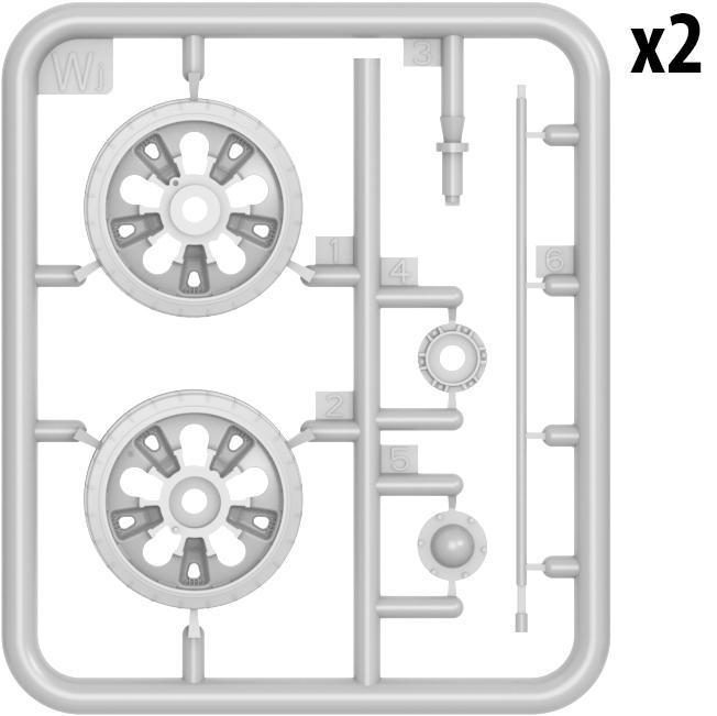 37058 T-55/T-55A 车轮组