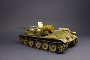35187 SU-85 SOVIET SELF-PROPELLED GUN. INTERIOR KIT + Victor Novikov