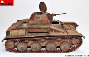 35215 T-60 EARLY SERIES. SOVIET LIGHT TANK. INTERIOR KIT + Mateusz Szefer